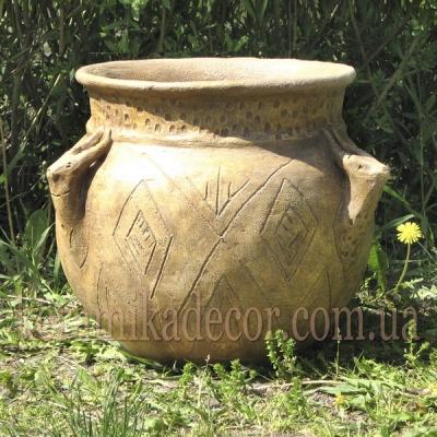 Керамический горшок-ваза для цветов, дизайн интерьеров, ландшафтный дизайн купить Киев