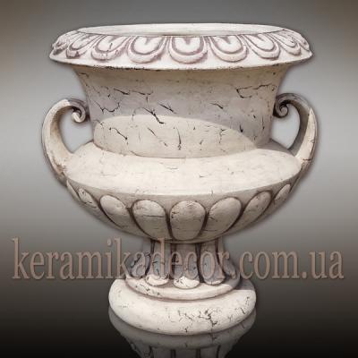 Чаша керамическая для сада