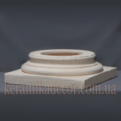 Керамическая база для колонны 220мм (шамот) купить Украина