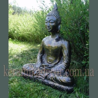 Статуя Будды, керамика, глазурь купить Киев