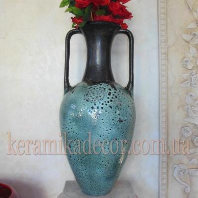 Керамическая напольная ваза купить в Киеве в магазине авторской керамики