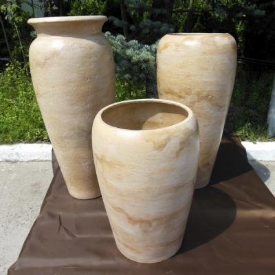 фКерамический горшок-ваза для цветов купить