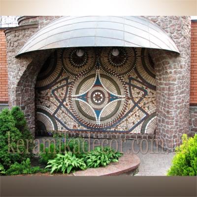 Керамическое мозаичное панно (шамот, глазурь) купить Украина