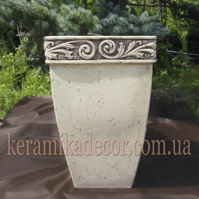 Керамический контейнер для цветов и растений купить Украина