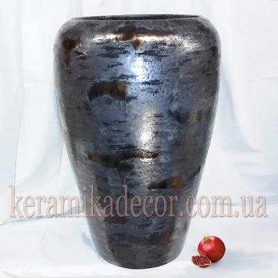 Керамический горшок больших размеров для растений и дизайна