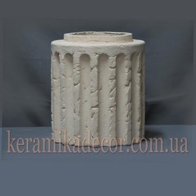 Керамический сегмент для колонны 220мм (шамот) купить Украина