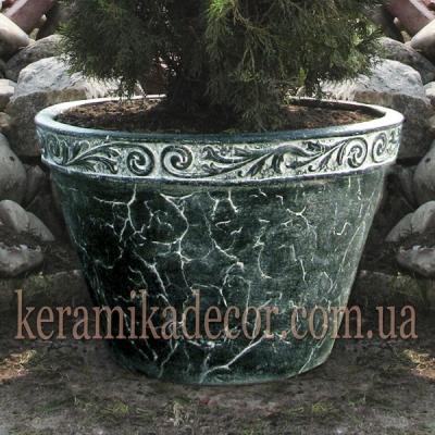 Керамический горшок для кустарников,деревьев, фасада, интерьера  купить Киев