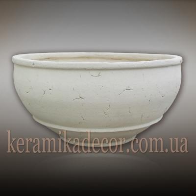 Керамическая чаша для цветов купить Киев
