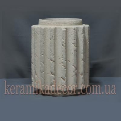 Керамическаий сегмент для колонны 220мм (шамот) купить Украина