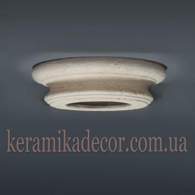 Керамическая капитель дорическая для колонны 220мм (шамот) купить Украина