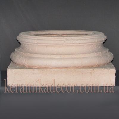 Керамическая колонна D=380мм. База №1 k-17