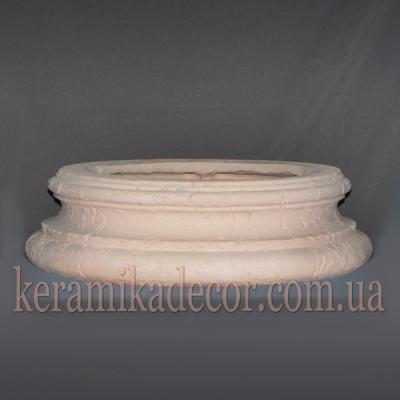 Керамическая колонна D=380мм. База №2 k-18