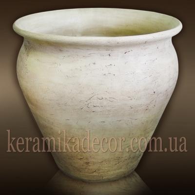 Крупномерный керамический горшок для деревьев и кустарников купить Украина