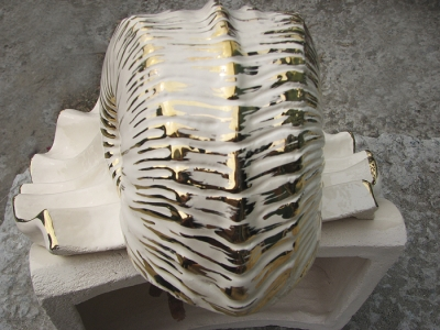 """Фонтан """"Версаль"""" белый с золотом, керамика заказать Киев Украина"""