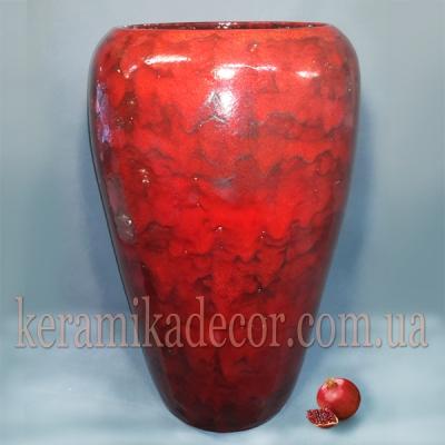 Керамический горшок больших размеров для растений и дизайна купить в Украине