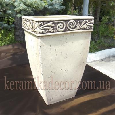 Керамический контейнер для цветов и растений купить Киев