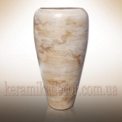 Керамический горшок-ваза для цветов и кустарников, для фасада интерьера  купить