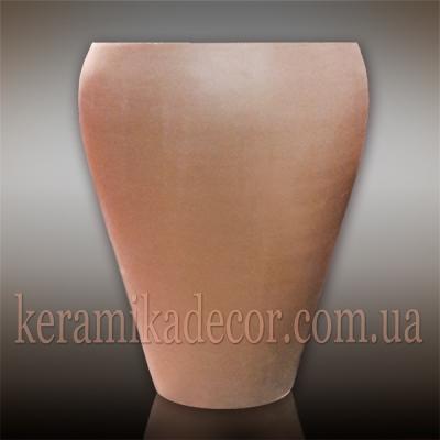 Керамический горшок больших размеров для растений и дизайна интерьера