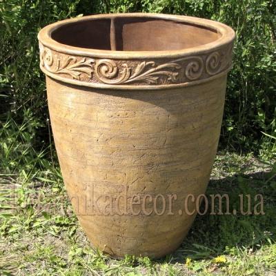 Керамический горшок для крупных растений купить Киев