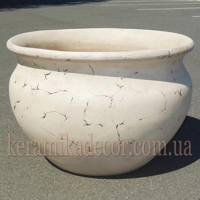 Горшок керамический напольный большой купить Киев