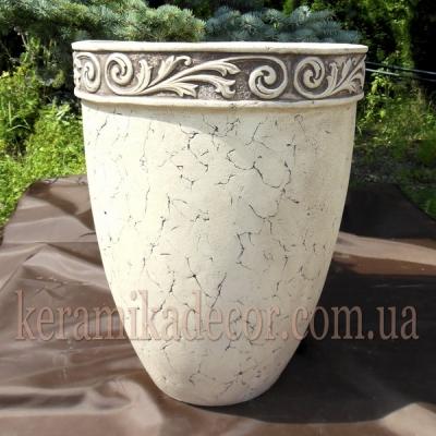Керамический горшок для крупных растений