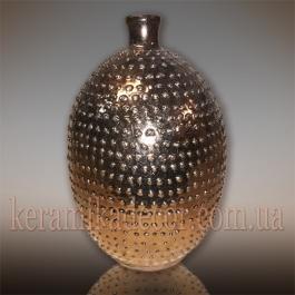 "Керамическая ваза-бутылка ""Лаос"" v-106g"