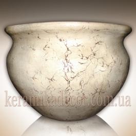 Горшок керамический напольный большой купить