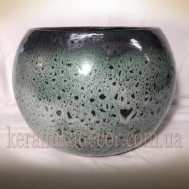 Керамическая ваза-шар v-d400