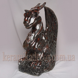 """Керамическая статуя """"Дракон"""" sk-26"""