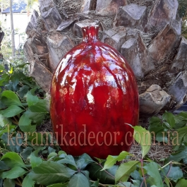 Керамическая ваза-бутылка v-106g