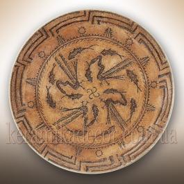 Керамическая трипольская тарелка купить