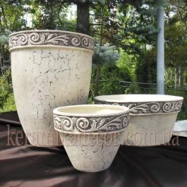 Керамические горшки для ландшафтного оформления
