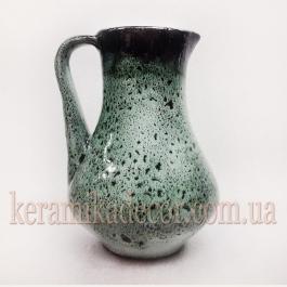 """Керамический кувшин """"Малахит"""" v-004g"""