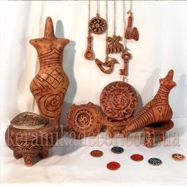 Трипольская керамика ручной работы