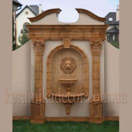 Керамический фонтан Лев FN-2