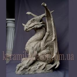 """Керамическая статуя """"Дракон"""" sk-25"""