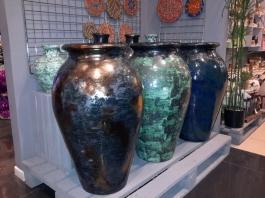 Керамический горшок для интерьера, дизайн ландшафта, шамот, глазурь купить