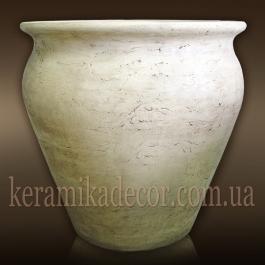 Крупномерный керамический горшок для деревьев и кустарников купить