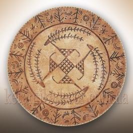 """Декоративная тарелка """"Небесные олени"""" ta-15"""