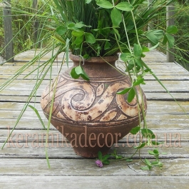 Керамическая Трипольская ваза ts-1