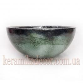 Керамическая глазурованная чаша для цветов купить Киев