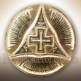 """Декоративная тарелка """"Крест Всемирья"""" tz-19"""